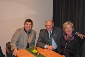 BGM Peter Heindl im Gespräch mit LH Dr. Erwin Pröll